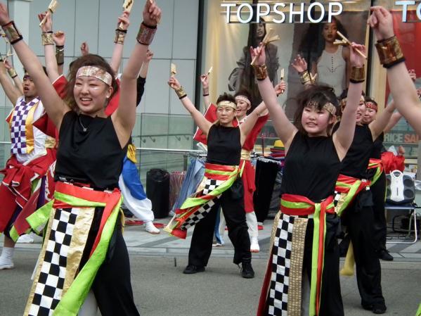 ヨコハマ大道芸「よさこい踊り」(3)