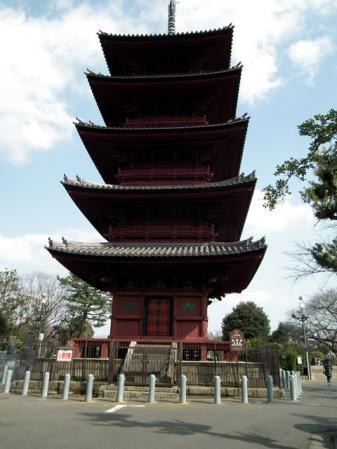 池上本門寺の五重の塔