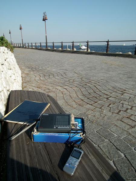 大黒埠頭 海釣り公園でDX