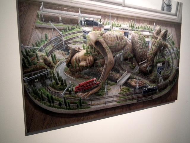 ヨコハマトリエンナーレ 横浜美術館の展示物(2)