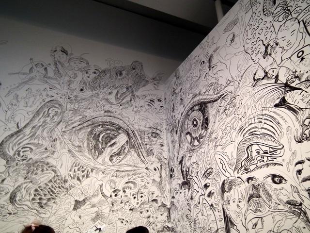 ヨコハマトリエンナーレ 横浜美術館の展示物(3)