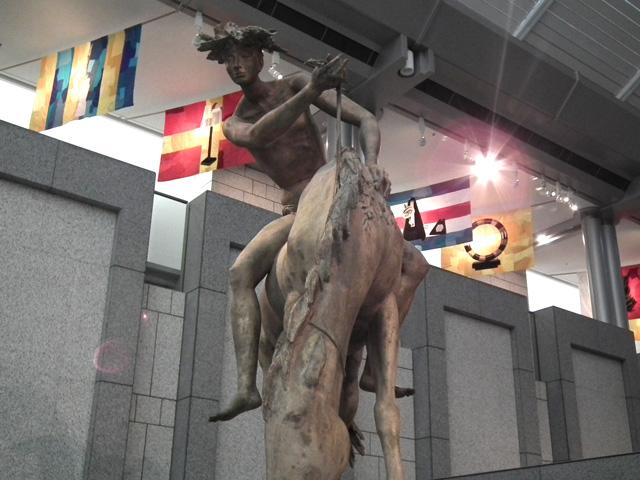 ヨコハマトリエンナーレ 横浜美術館の展示物(4)