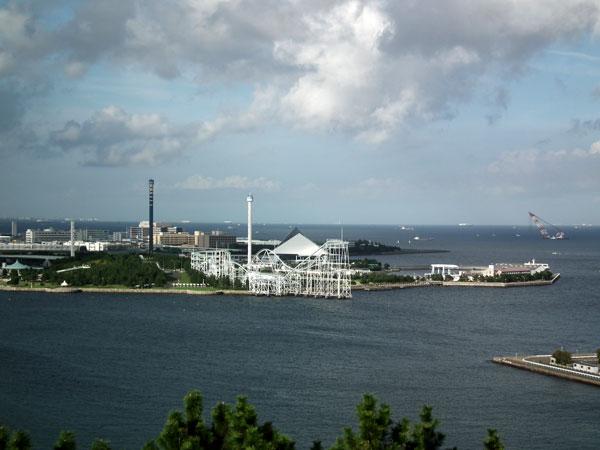 野島展望台からの眺め