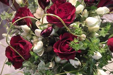 バレンタインの花束