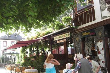 2009年夏ドイツつぐみ横丁のレストラン