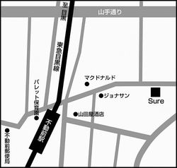 Sureの地図