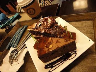韓国チョコケーキ