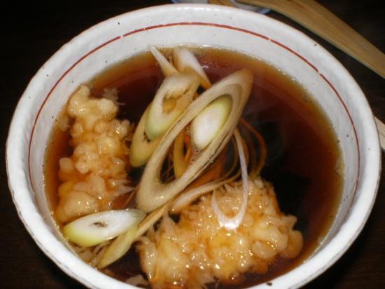 喜庵 鶏スープ.JPG