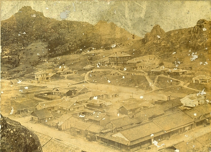 明治初期の街並み1