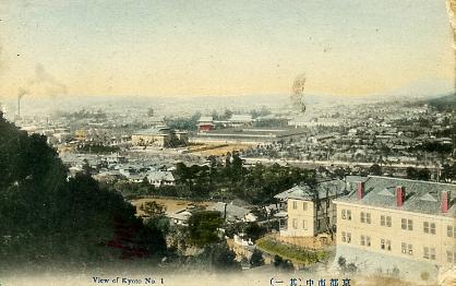 明治後期の京都市街