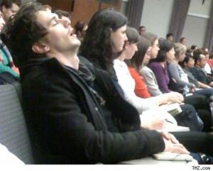 James Franco Sleeping