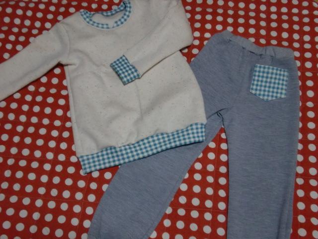 息子のパジャマ