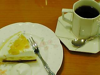 ミルフォードのケーキセット