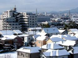 06年の雪景色