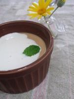紅茶パンナコッタ