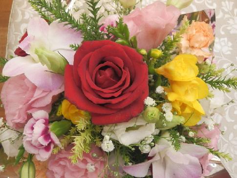 花アレンジメント