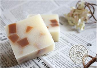 ココアモザイク石鹸