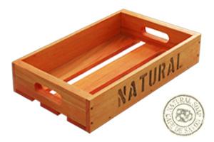 オリジナル木箱 Sサイズ オレンジ