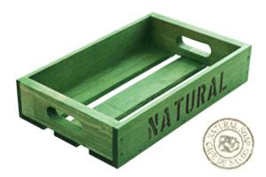 オリジナル木箱 グリーン