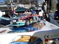 個人製作のミクZカー(BMW Z3)の模型001