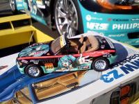 個人製作のミクZカー(BMW Z3)の模型002