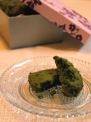 抹茶とあずきのクッキー