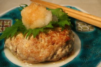 豆腐ハンバーグアップ