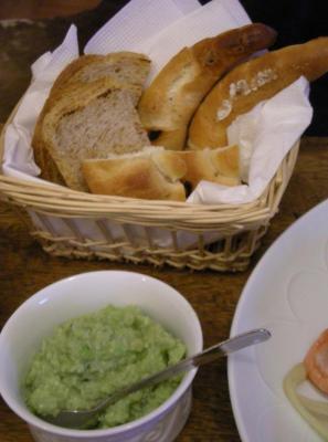 ドイツパンとずんだソース 2008.6.8