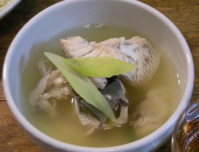 鯛と鰤のおしお汁 2008.6.14