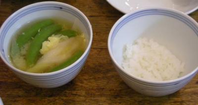 久しぶり!お味噌汁とごはん!2008.6.17