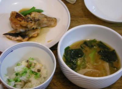 バランス良く!日本食!2008.6.28