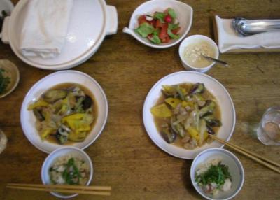 野菜たっぷり!満腹な夕食2008.7.2