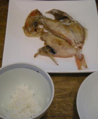 金目鯛の干物 2008.7.4