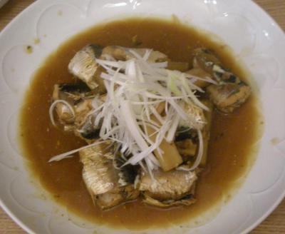 さかながおいしい!栄養たっぷり!いわしの味噌煮 2008.7.9