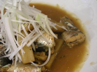 イワシの味噌煮 2008.7.9