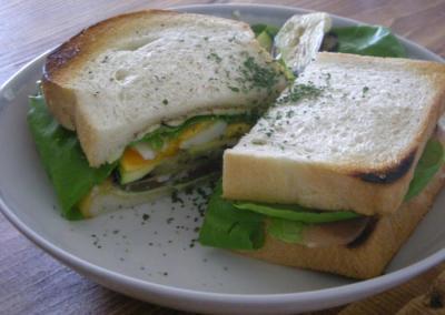 具たくさん!サンドイッチ 2008.7.12
