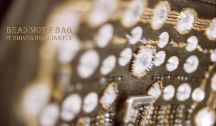 Bead motif bag