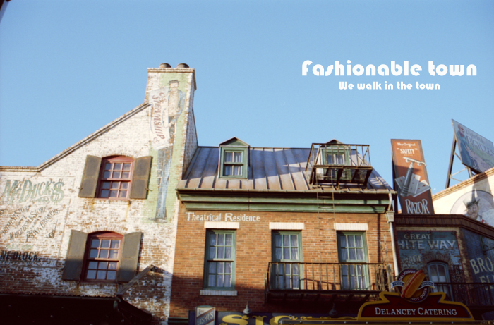 Fashionable town