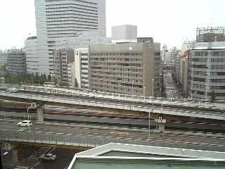 チサンホテル新大阪の部屋より