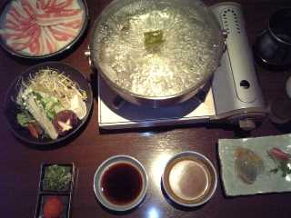 チサンイン江坂/豚しゃぶ