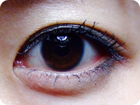パーフェクトリー ディファインド マスカラ使用eye