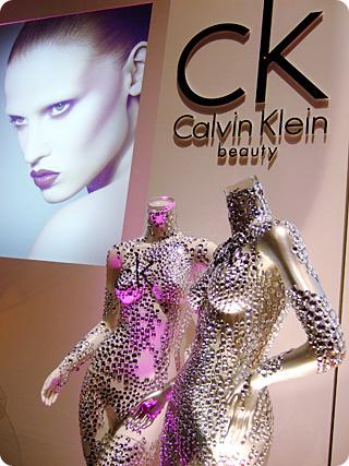 ck Calvin Klein Beautyブース