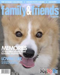 family&friends表紙