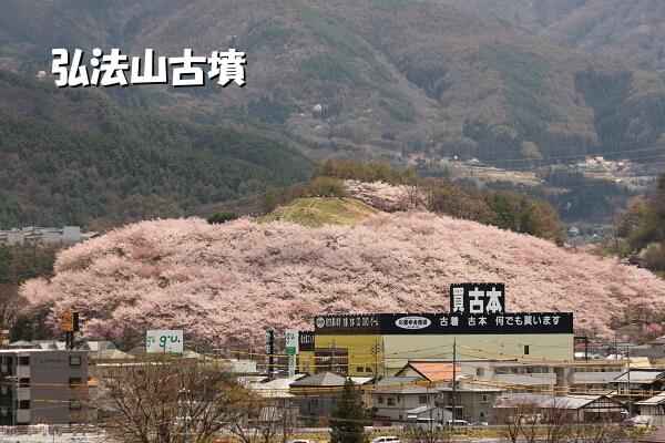 ピンクの山