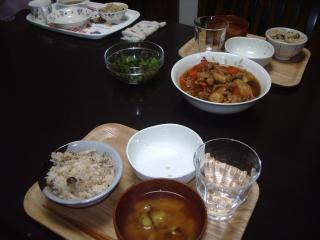 1026夕飯