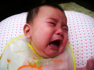 離乳食号泣