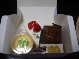 1101お土産ケーキ