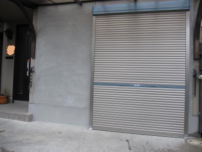 外壁壁塗り