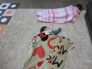 お昼寝姉妹