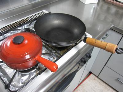 こだわりの調理器具